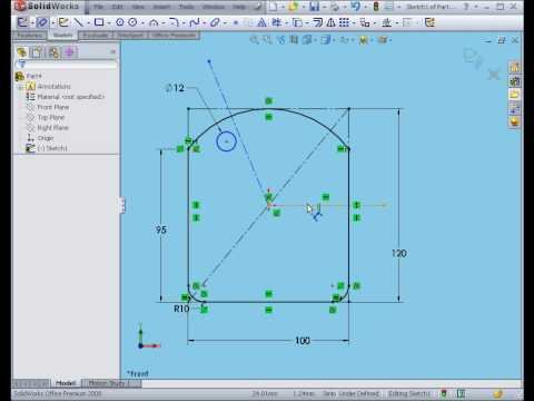 solidworks tutorial Construction Geometry