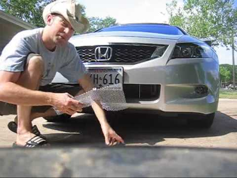 2009 Honda Accord condenser grille for about $10