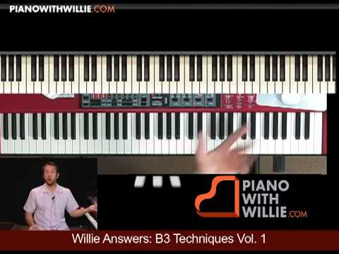 Willie Answers 21: B3 Organ Techniques Vol 1 Into