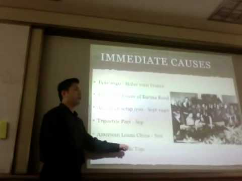Immediate Causes of WWII Pacific Part 2/2