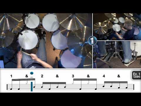 Intermediate 16th Note Linear Drum Fills