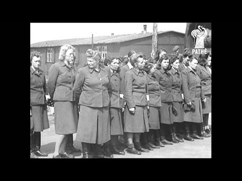 Holocaust Footage (1945) - Part Two - [WARNING: DISTRESSING IMAGES]