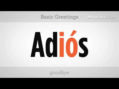 Learn Spanish / Combining Vowels & Basic Greetings