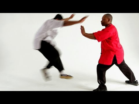 Shaolin Kung Fu: 18 Hands Techniques / Monk Pushes the Door