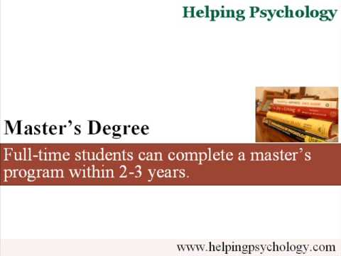 Psychology Graduate Degree: Masters or Doctorate?