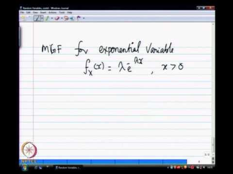 Mod-01 Lec-06 Probability distributions-I