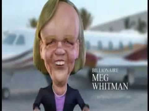 California Gubernatorial Primary 2010: Anti-Whitman Ads by Groups Favoring Jerry Brown