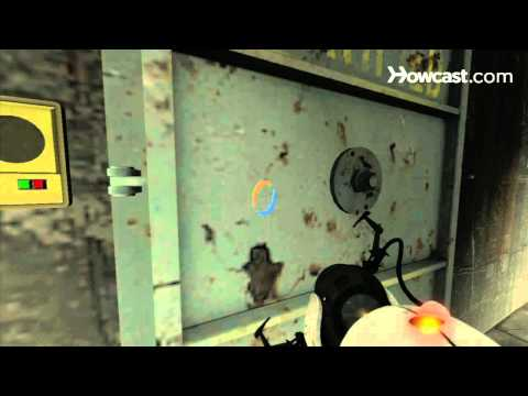 Portal 2 Secrets / Chapter 6 - Aperture 1970s - Vitrified Doors 4-6 and Borealis Dock