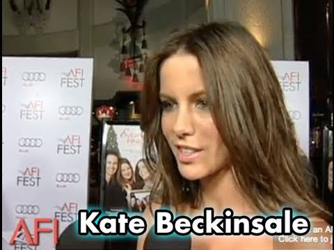 Kate Beckinsale on Working With Robert De Niro in EVERYBODY'S FINE