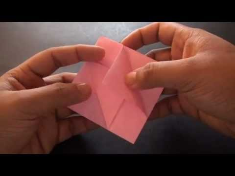 Origami Daily - 210: Tulip Bowl (Flower bowl) - TCGames [HD]
