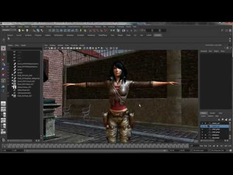 Enhancements to Assets and File Referencing — Maya 2011 New Features