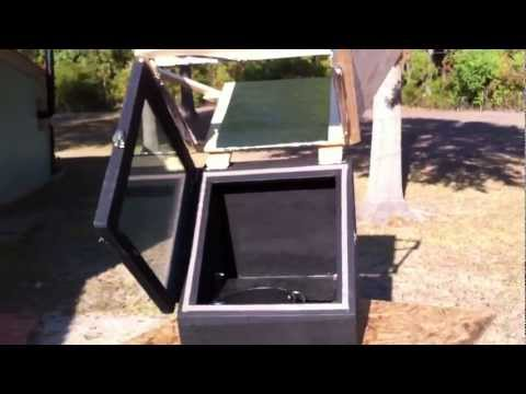 How to make a solar oven 4/4