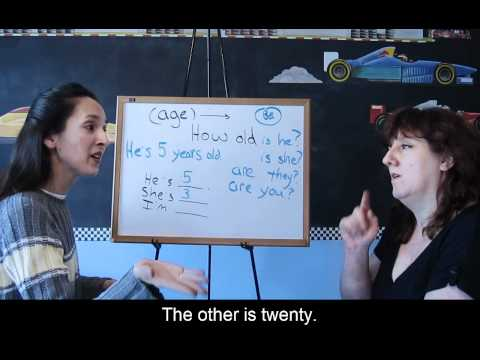Lesson 35 - How old are you? - Learn English with Jennifer
