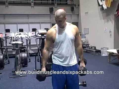 alternating dumbbell curl.wmv