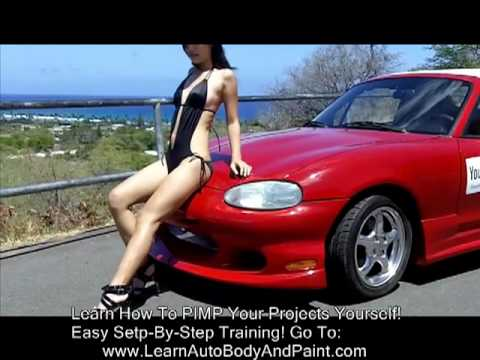 """""""How To Paint Your Car Yourself"""" video 3 of 3 - Custom Painting Secrets"""