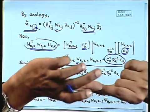 Lec-19 Kalman Filter-Derivation(Contd...)