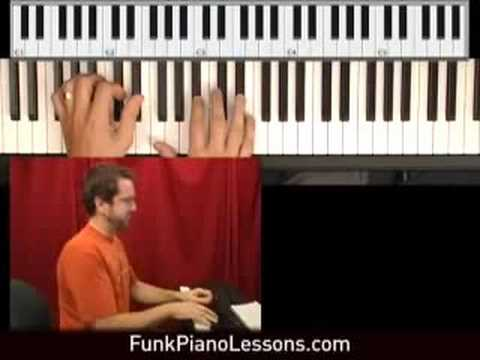 Funk Piano Grooves from Funk Piano Lessons .com