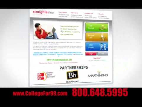 Online College Courses Television Commercial - Joe Versus Jill - StraighterLine
