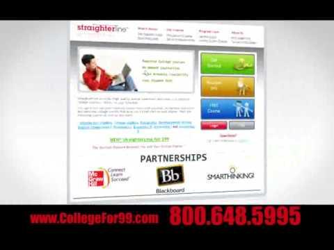 Online College Courses Television Commercial - Joe Versus Jill - StraighterLine