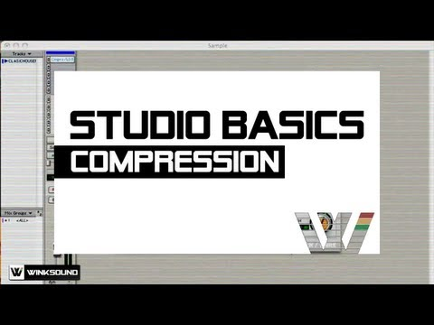Compressor Parameters | Studio Basics | WinkSound