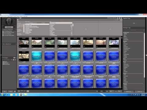 Unreal Development Kit UDK Tutorial - 16 - Content Browser