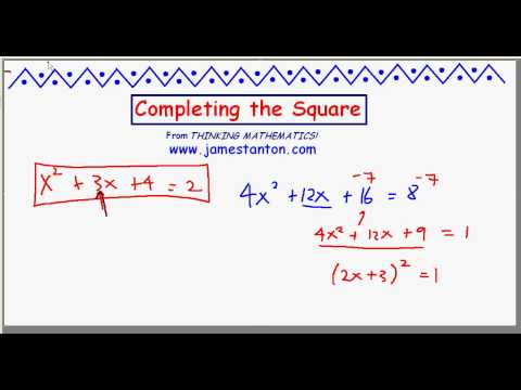 Completing the Square_Part II