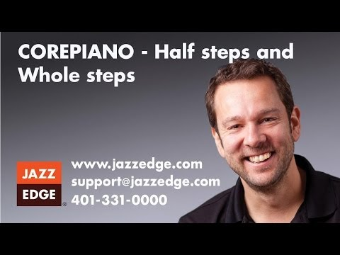 COREPIANO - Half steps and Whole steps
