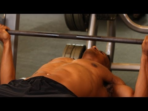 How to Do a Wide Reverse Grip Bench Press | Home Chest Workout for Men