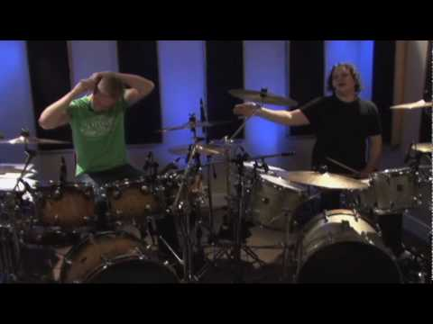 Double Paradiddles Applied Around The Drum-Set (Live Broadcast #12)