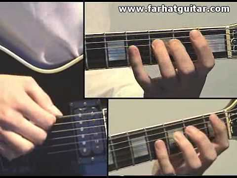 Enter sandman Metallica Guitar Cover Part 6 www.FarhatGuitar.com