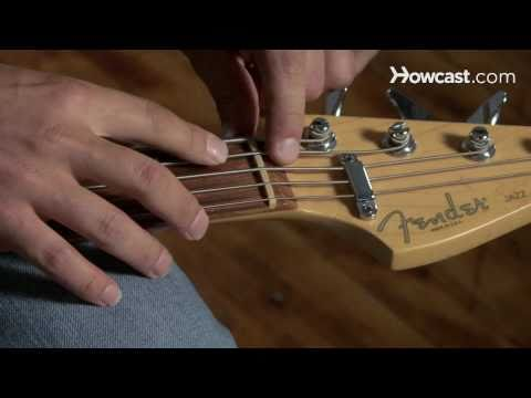 How to Play Guitar: Beginners / Restringing a Bass Guitar