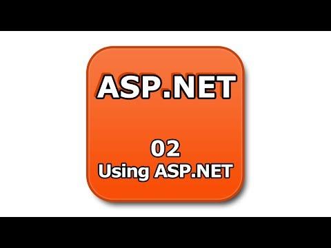 ASP.NET Tutorial - 02 - Using ASP.NET