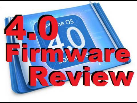 iOS 4 Hands on Firmware Review - iPhone & iPod Touch