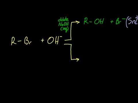 20.3.1 Describe, using equations, the elimination of HBr from bromoalkanes  IB Chemistry HL