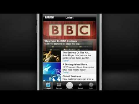 The new BBC Listener App - Promo