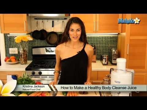 How to Make a Healthy Body Cleanse Juice