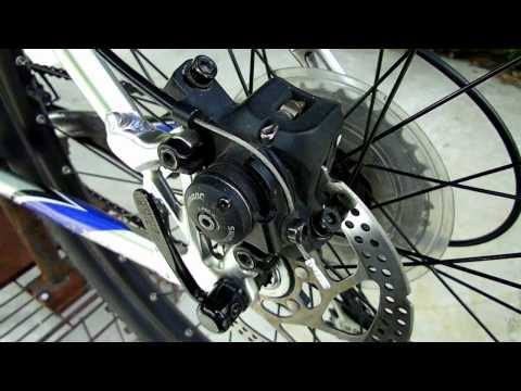 Adjusting Bicycle Disc Brakes