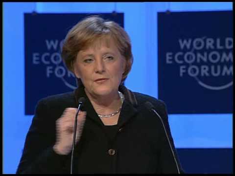Davos Annual Meeting 2006 - Angela Merkel