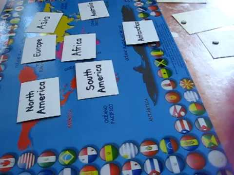 Preschool - Social Studies. Countries in Continents