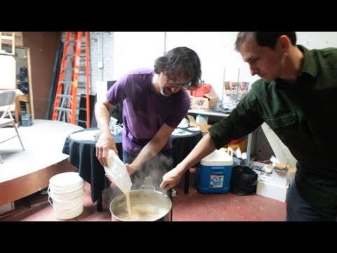 How to Homebrew Beer on Make: Live ep08