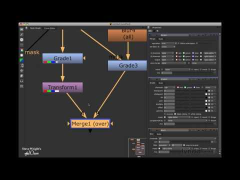 How to edit nodes in Nuke | lynda.com tutorial