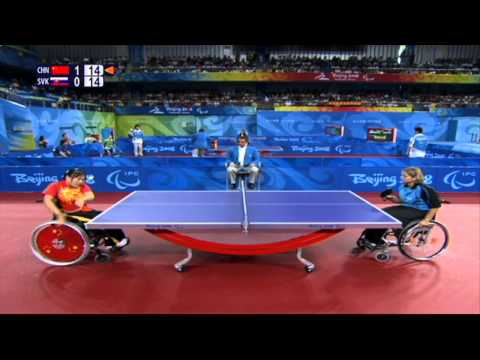London 2012 - Paralympic Table Tennis