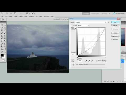 Adobe Photoshop CS5 Extended Ch 3 GLOBAL EDITING  Learning the Curves Tool