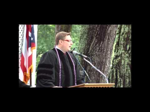 Sean Lane at Rio Grande University 2012 Commencement Address - Part 2