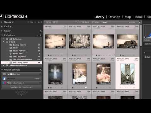 Lightroom 4: Share Images Online