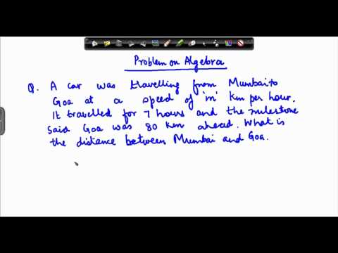 Algebra writing equation - 5
