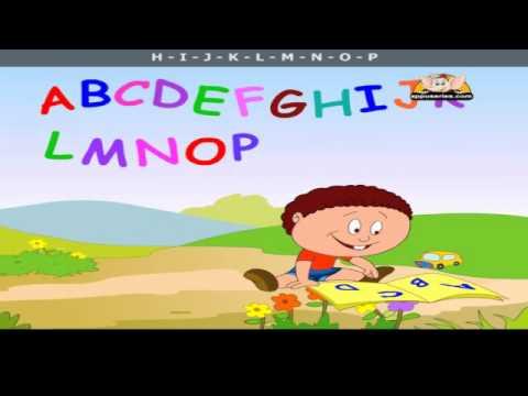 The Alphabet Song - Nursery Rhyme