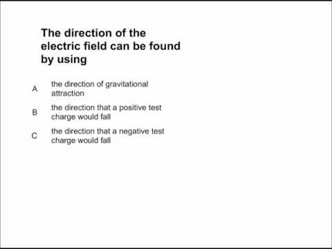 Electric Field and Potential Presentation #05