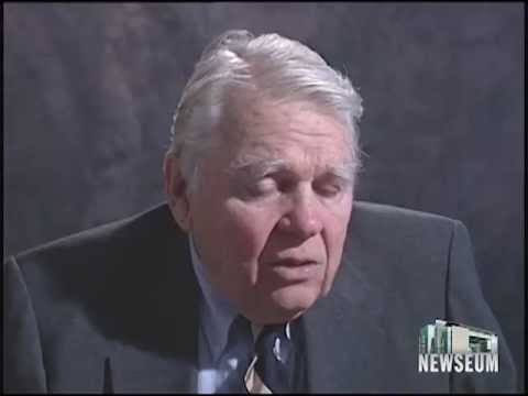 Andy Rooney Newseum 1996 Interview