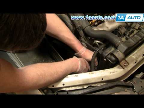 How To Install Replace Alternator AC Compressor Drive Belt Toyota Camry 3.0L 92-96 - 1AAuto.com